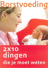 Verloskundigen Amersfoort Folder Borstvoeding 2x10 die je moet weten WHO