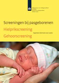 Verloskundigen Amersfoort Folder Screening bij pasgeborenen Hielprik Gehoorscreening RIVM