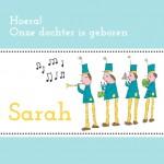 Geboorte Sarah, dochter Martine Gerritsen